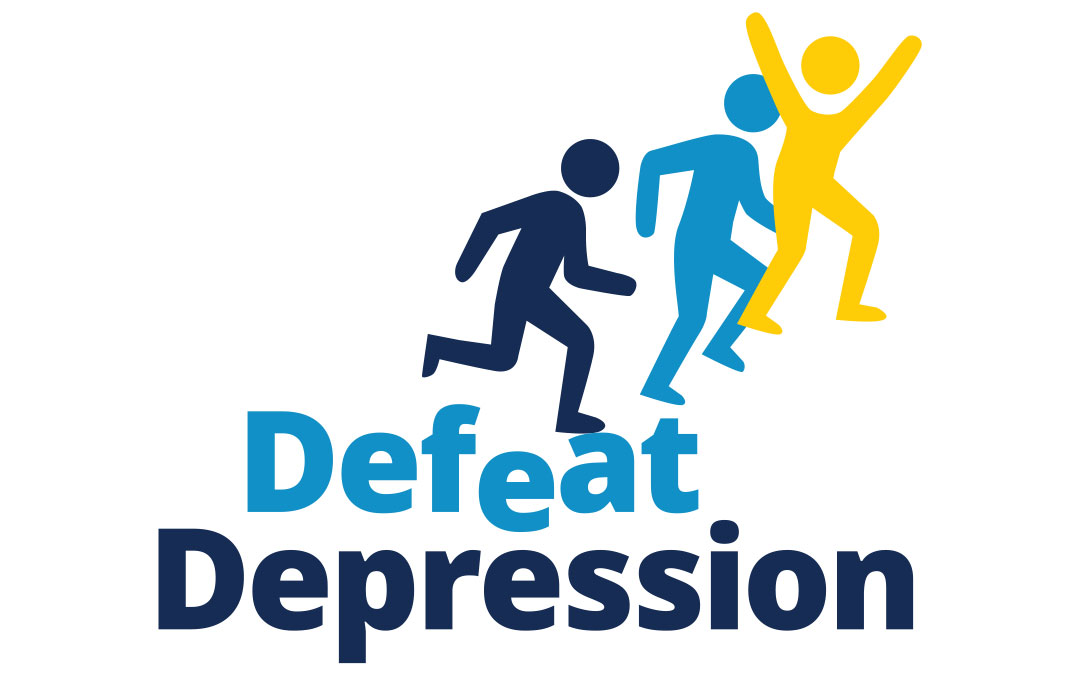 Defeat Depression logo